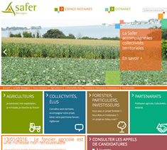 Site institutionnel SAFER Bretagne